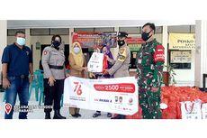 Rayakan HUT ke-76 RI, PT Bhirawa Steel Salurkan Bantuan 2.500 Paket Sembako