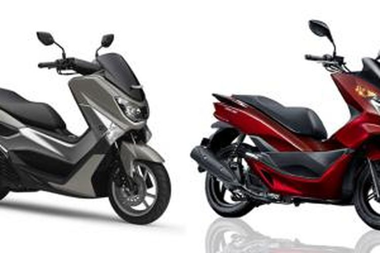 Menilik Perbedaan Yamaha Nmax Dan Honda Pcx