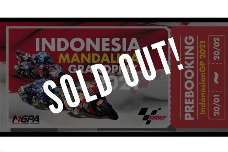 Pre Booking tiket MotoGP Mandalika
