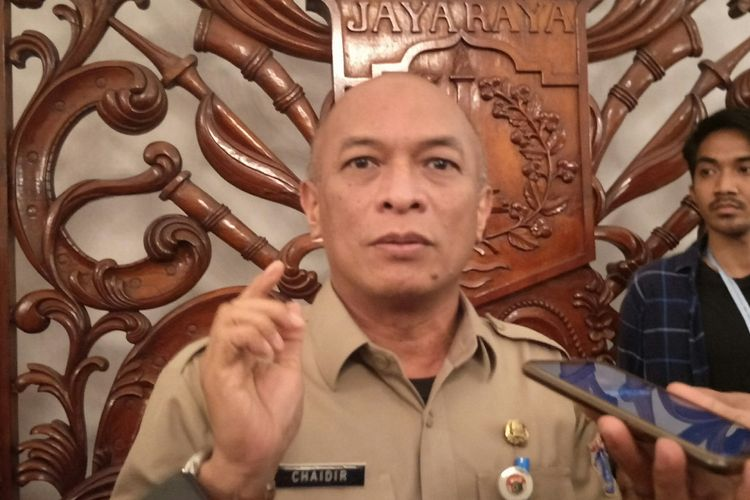 Kepala BKD Jakarta Chaidir di Balai Kota DKI Jakarta, Senin (16/12/2019).
