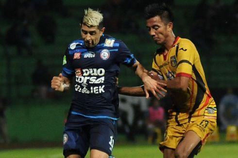 Soal Masa Depan di Arema FC, Vizcarra Tak Mau Menunggu Terlalu Lama