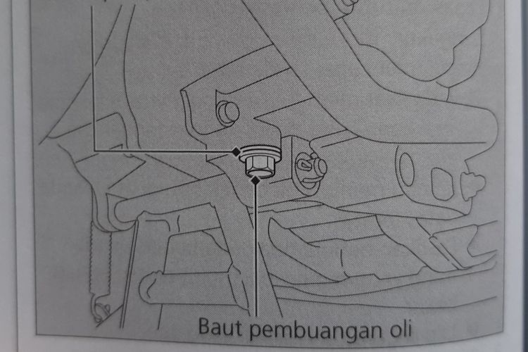 Mengganti oli mesin skutik bisa dilakukan sendiri di rumah