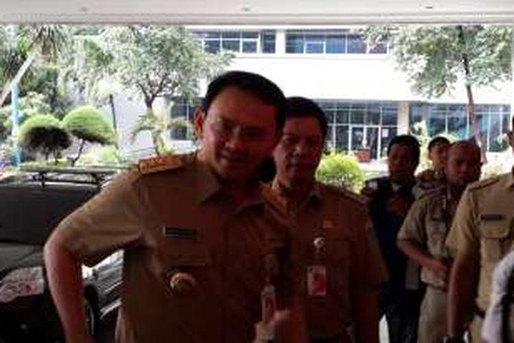 Gubernur DKI Jakarta Utara Basuki Tjahaja Purnama