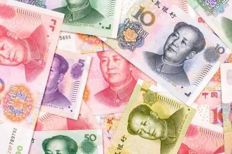 Ilustrasi: mata uang China, yuan