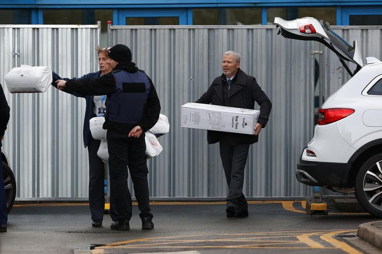 epa08182289 Baby cots arrive at Arrow Park Hospital for the arrival of British citizens from China to Liverpool, Britain, 31 January 2020. According to reports, 150 British citizens and 50 other EU citizens arrived to RAF Brize Norton from Wuhan in China. British passengers will be quarantined and other passengers will fly to another EU state airport. The coronavirus, called 2019-nCoV, originating from Wuhan, China, has spread to all the 31 provinces of China as well as more than a dozen countries in the world. The outbreak of coronavirus has so far claimed 213 lives and infected more than 8,000 others, according to media reports.  EPA-EFE/LYNNE CAMERON