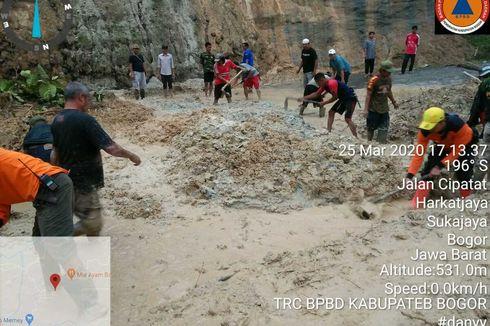 Hujan Deras, Kecamatan Sukajaya di Bogor Kembali Banjir dan Longsor