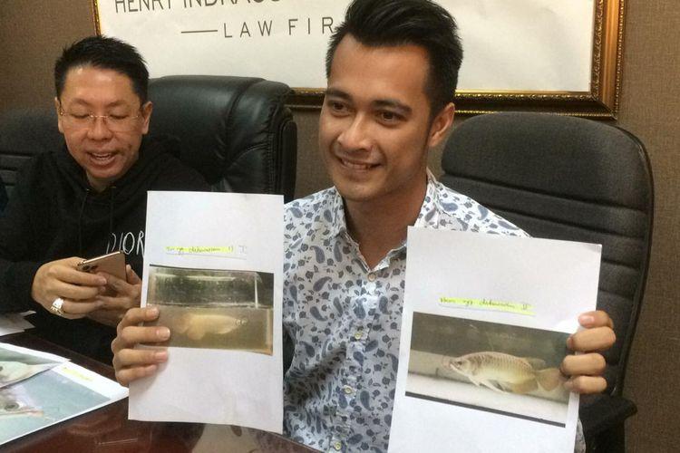 Eza saat ditemui di kawasan Permata Hijau, Jakarta Selatan, Jumat (22/11/2019).