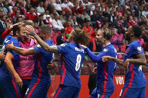 Klasemen Kualifikasi Piala Dunia 2022: Inggris Tersandung, Denmark Catat Kemenangan 100 Persen!