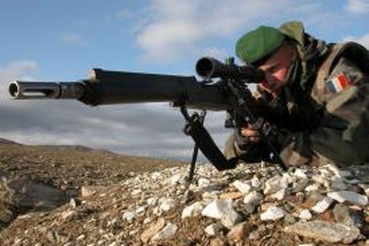 Ilustrasi sniper Perancis.