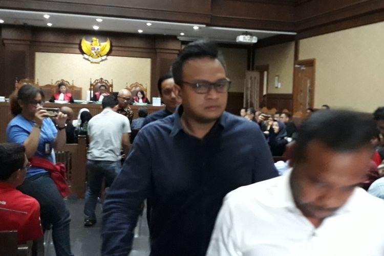 Irvanto Hendra Pambudi di Pengadilan Tipikor Jakarta, Senin (5/3/2018).