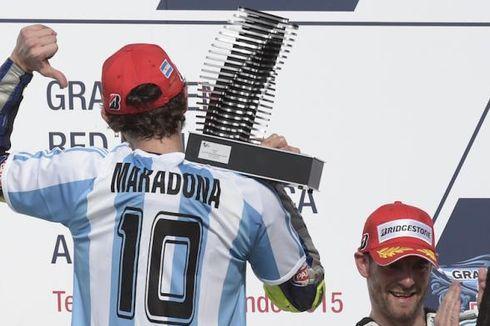 Maradona Meninggal, Valentino Rossi Kenang Momen Saat Bersama Sang Legenda