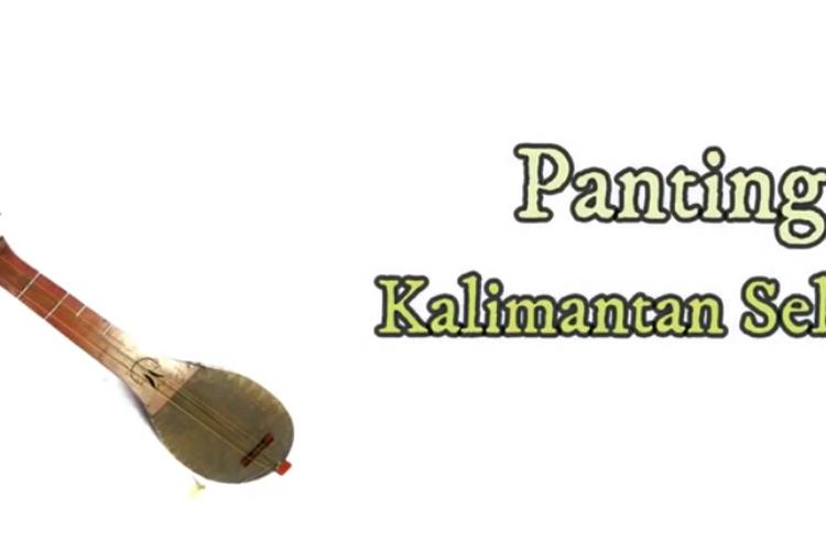 [Tangkapan Layar] Alat Musik Panting Khas Kalimantan Selatan
