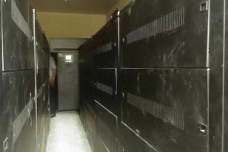 UPS yang berada di SMA Negeri 68 Jakarta Pusat
