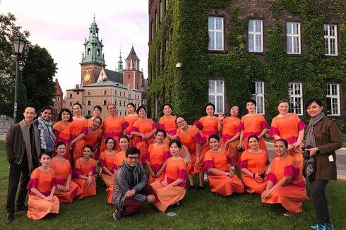 Paduan Suara Perempuan dari Jakarta Jadi Juara Pertama di Polandia