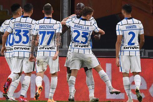 Genoa Vs Inter Milan, Nerazzurri Petik Poin Penuh