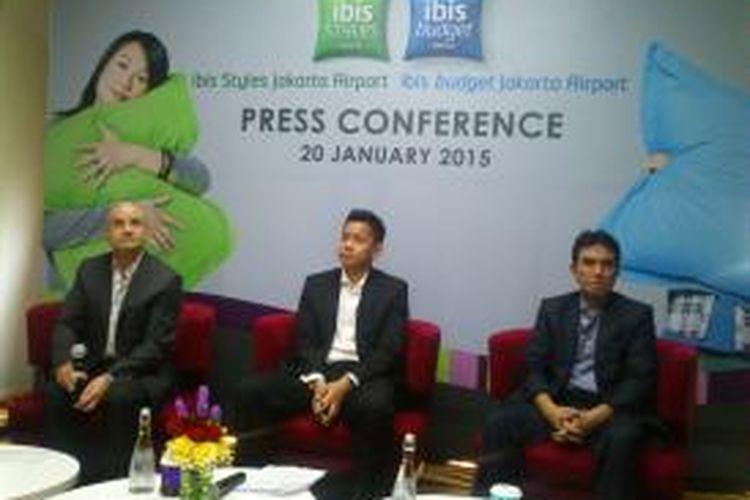 Konferensi Pers Grand Opening ibis Styles Jakarta Airport dan ibis budget Jakarta Airport, Selasa (20/1/2015)