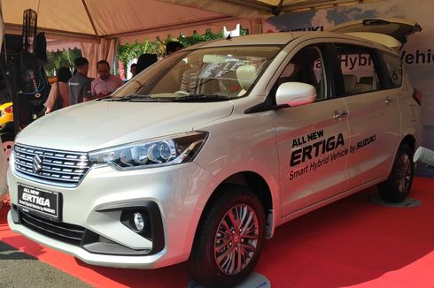 Kejutan, Ini Dia Suzuki All New Ertiga Smart Hybrid [VIDEO]