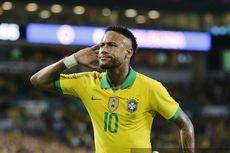 Timnas Brasil Vs Nigeria, Neymar Berpeluang Samai Rekor Gol Ronaldo