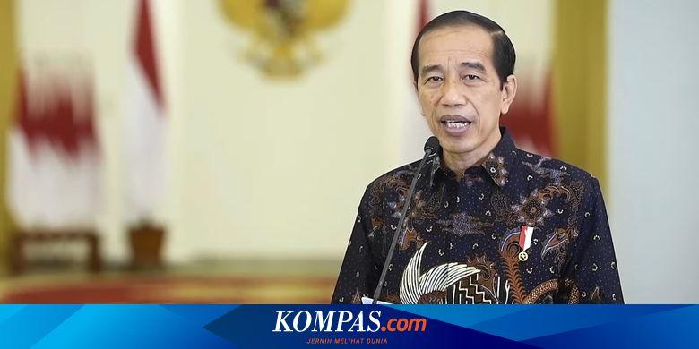 BREAKING NEWS: Jokowi Umumkan Perpanjang PPKM Leve