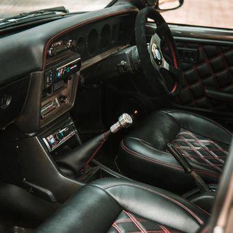 Interior Toyota Corolla KE30 Garapan DS Auto Project