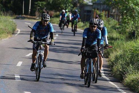 Peserta Jelajah Sepeda Flores Timor Tuntaskan Etape Terakhir