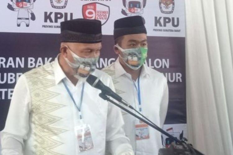 Mahyeldi-Audy Joinaldy dijadwalkan dilantik Presiden Joko Widodo, Kamis (25/2/2021)