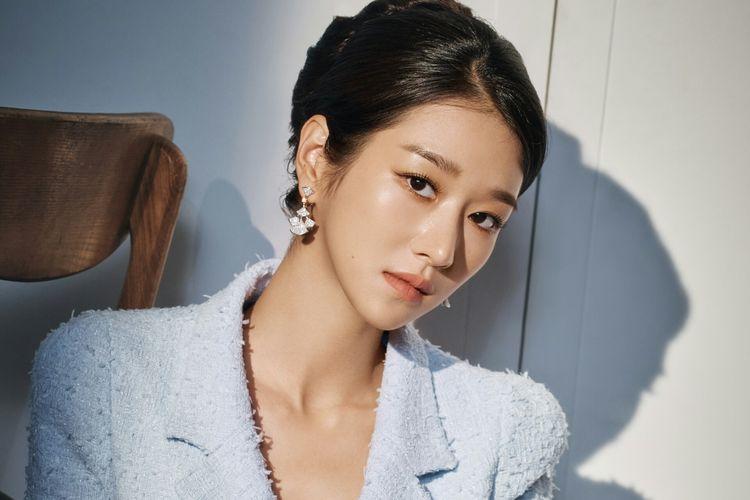Aktris Seo Ye Ji dalam pemotretan untuk drama It's Okay to Not Be Okay, Rabu (10/6/2020)