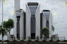 Begini Desain Masjid di Gaza Palestina Karya Ridwan Kamil