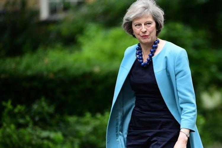 PM Inggris Theresa May.