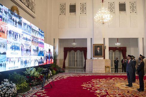Jokowi: Meski Fokus Kendalikan Covid-19, Polri Jangan Lupa Agenda Strategis