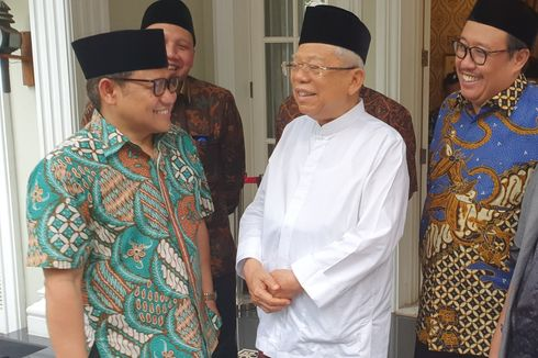 Muhaimin Ingin Kursi Ketua MPR, Ma'ruf Amin Mendukung