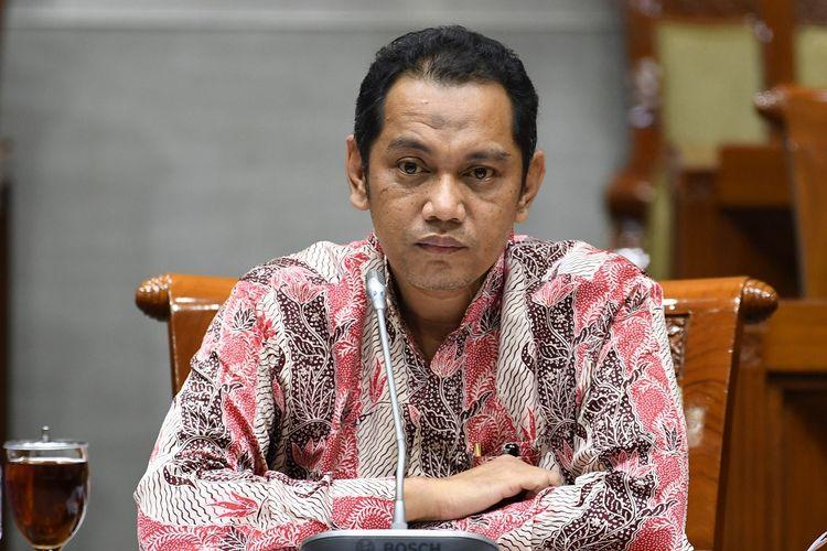 Calon pimpinan KPK Nurul Ghufron menjalani uji kepatutan dan kelayakan di ruang rapat Komisi III DPR RI, Jakarta, Rabu (11/9/2019) malam. ANTARA FOTO/Aditya Pradana Putra/foc.