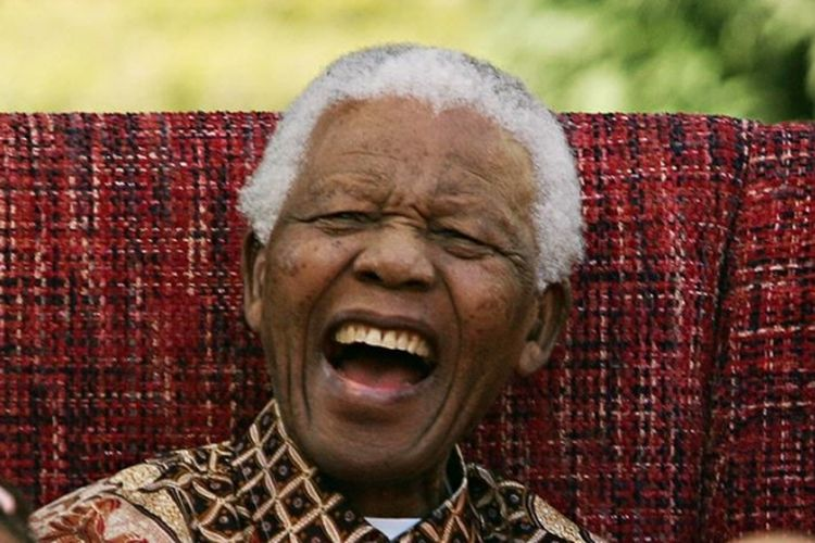 Mantan presiden Afrika Selatan Nelson Mandela.