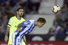 Leganes Vs Barcelona, Kekalahan Pertama Lionel Messi dkk