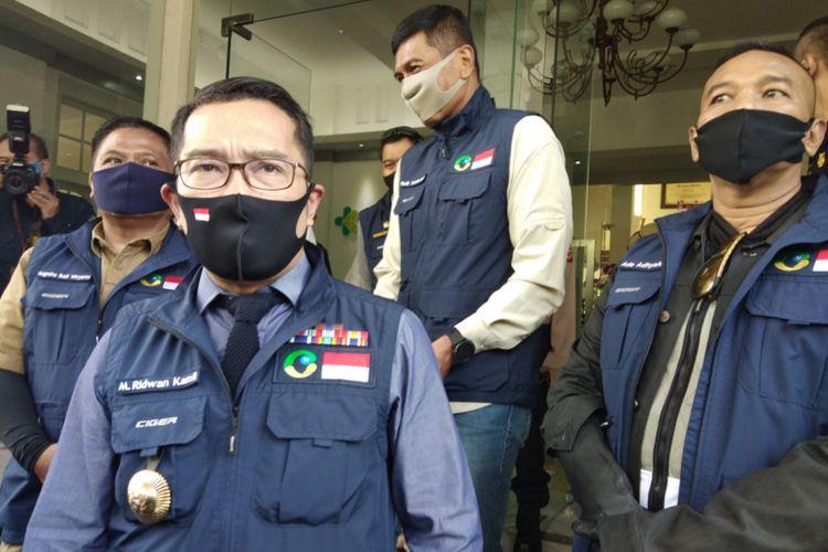 Gubernur Jawa Barat Ridwan Kamil saat ditemui di RSHS Bandung beberapa waktu lalu.