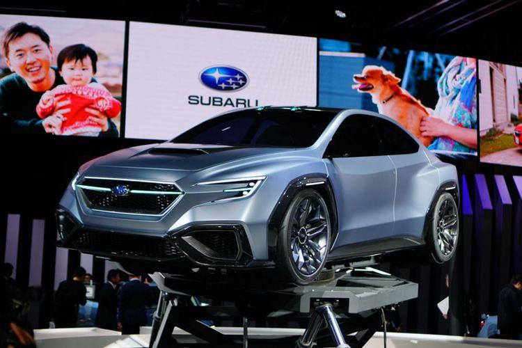 Pameran Tokyo Motor Show 2017, digunakan pihak produsen untuk menampilkan ragam kendaraan konsep mereka.  Salah satunya Subaru dengan Viziv Performance.