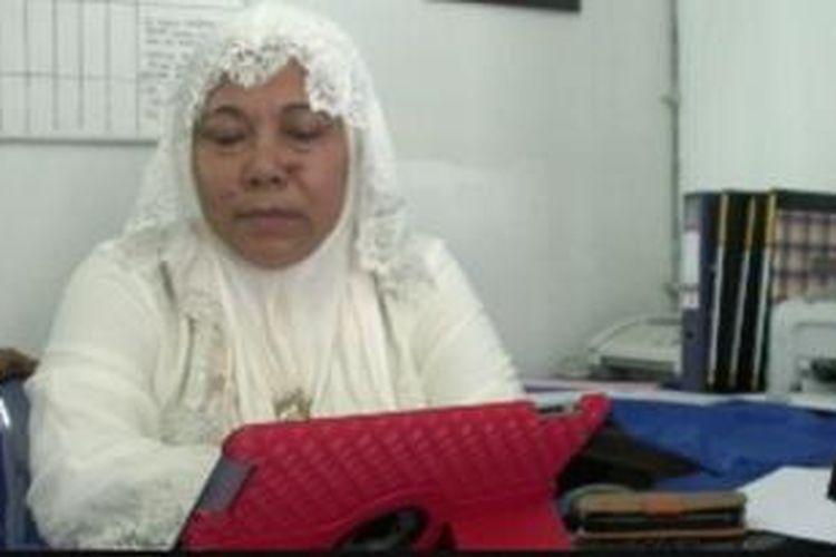 Badrunnisa, Kepala Kantor Pemberdayaan Perempuan dan KB Kota Banda Aceh.