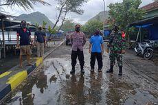 Gelombang Pasang Menghantam Pantai di Kebumen, Sejumlah Bangunan Rusak