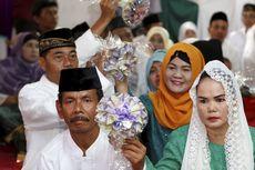 Menteri Ketenagakerjaan: Banyak Pengantin Nikah Massal yang Grogi