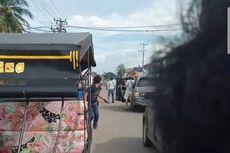 Viral Video Polisi Lepaskan Tembakan di Tengah Jalan Seperti di Film, Ini Penjelasan Kapolres Ogan Ilir