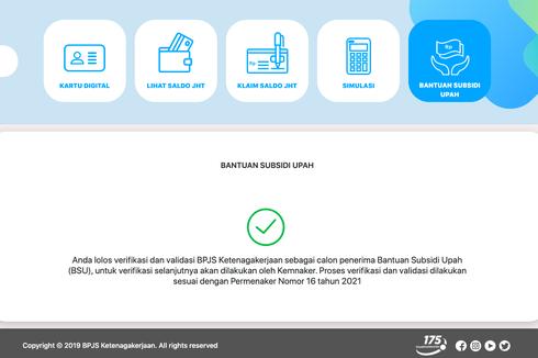 Cek Penerima BSU 2021, Bisa lewat Aplikasi, Web, atau WhatsApp