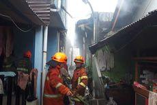 Rumah Terbakar di Gunung Sahari, 18 Mobil Pemadam Dikerahkan