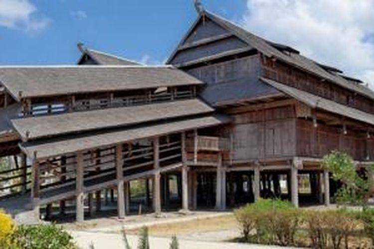 Istana Dalam Loka di Sumbawa Besar, Nusa Tenggara Barat.