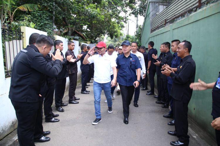 Sosialisasi Koperasi Pekerja Buruh Indonesia (KOPBI) dan Penguatan Fungsi Ketenagakerjaan Satuan Pengamanan (Satpam) Indonesia di Griyo Dalem EGP Security, Sabtu (9/3/2019).