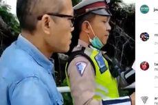 Polisi Memburu Pria yang Mendorong Polantas di Gerbang Tol Angke