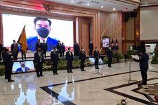 Mensos Risma Kukuhkan Pengurus Nasional Karang Taruna 2020-2025
