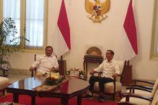 Kompak Berkemeja Putih, Prabowo dan Jokowi Bertemu di Istana