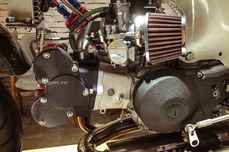 Honda Dax ST50 dimodifikasi hingga menelan biaya ratusan juta rupiah