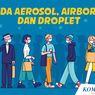 INFOGRAFIK: Beda Aerosol, Airborne dan Droplet