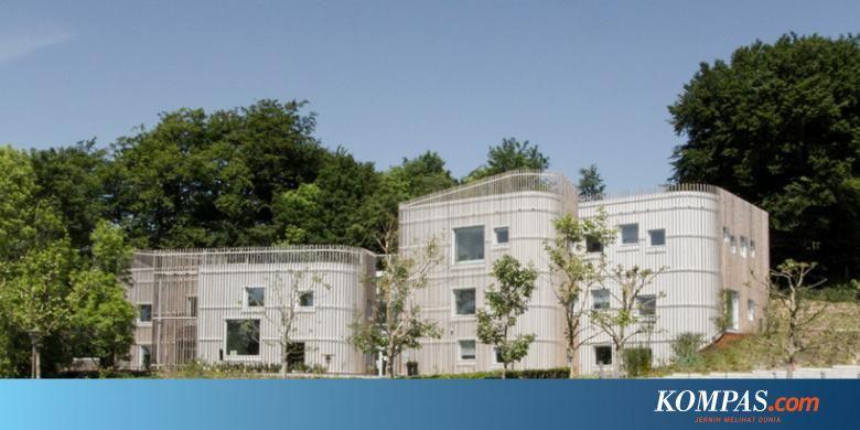 Gambar Kanopi Rumah Kayu mainkan fasad rumah sakit juga perlu tampil cantik